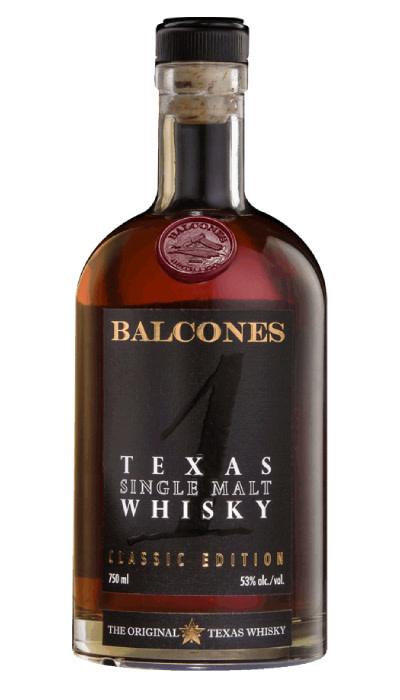 USA Balcones Single Malt Whiskey 750ml