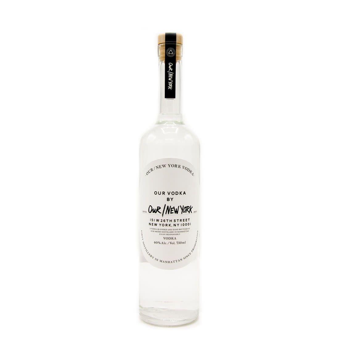 USA Our New York Vodka 750ml