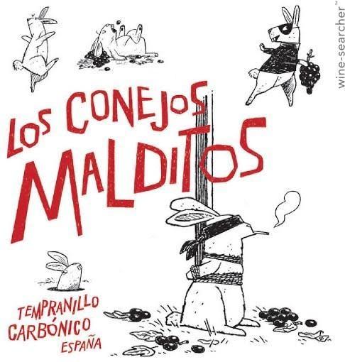 Spain Mas que vinos Los Conejos Malditos Tempranillo