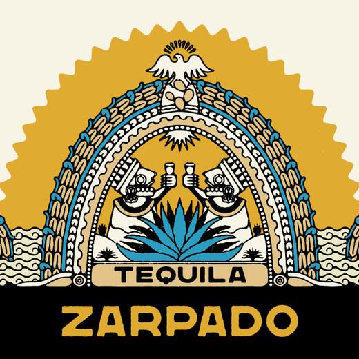 Mexico Zarpado Tequila Blanco