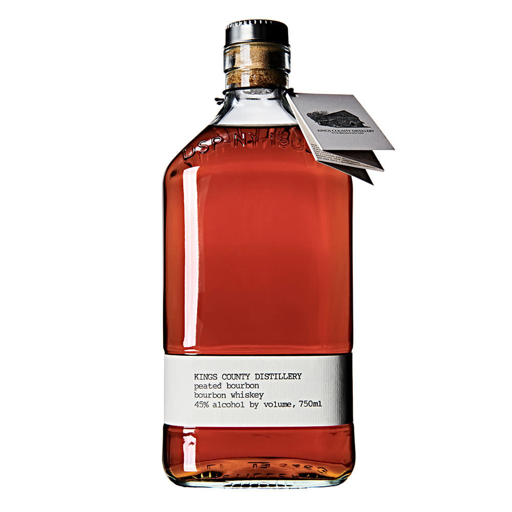 USA Kings County Distillery Peated Bourbon 375ml