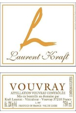 France Lauriers Kraft Vouvray Demi Sec 2016