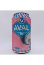 France Aval Cidre Artisanal Rose Can 330ml