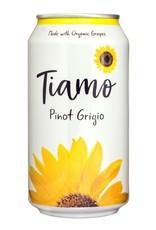 Italy Tiamo Organic Pinot Grigio Can 375ml