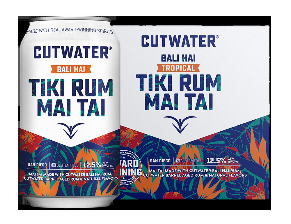 USA Cutwater Tiki Rum Mai Tai Bali Hai 355ml