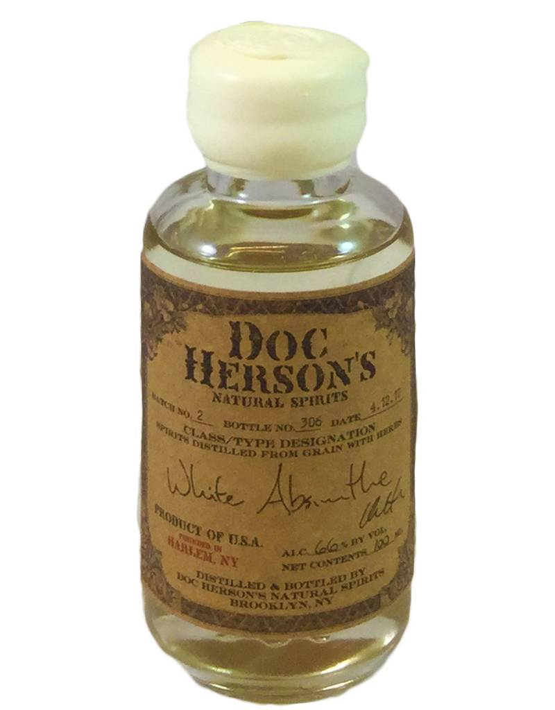 USA Doc Herson's WHITE Absinthe 100ml