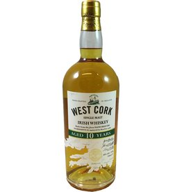 Ireland West Cork 10 Year Single Malt Whiskey