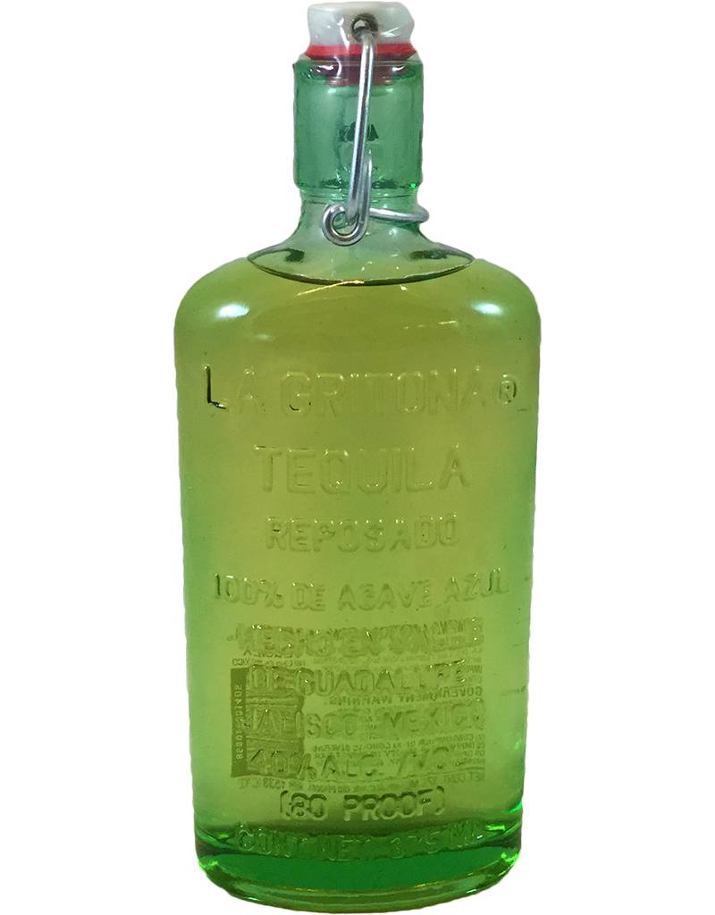 Mexico La Gritona Tequila Reposado 375ml
