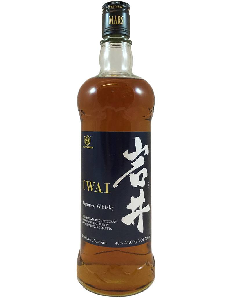 Japan Mars Shinshu Distillery Iwai Blue Label 750ml