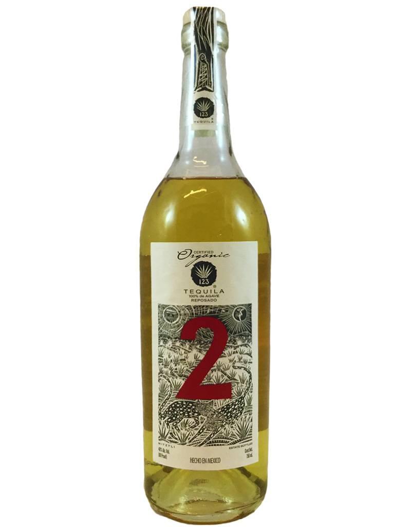 Mexico 123 Tequila No. 2: Reposado