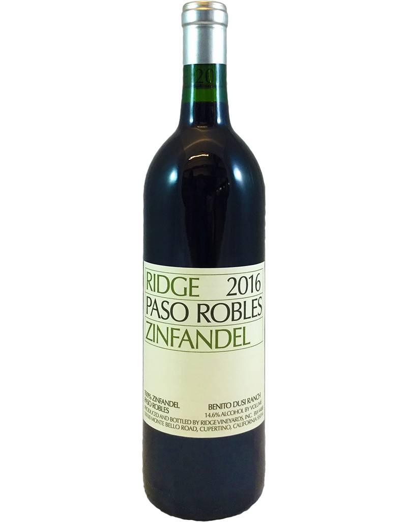 USA Ridge Zinfandel Paso Robles