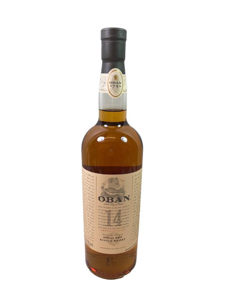Scotland Oban 14 Years Single Malt Scotch Whisky