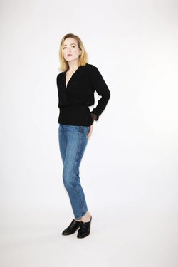 Just Female Lauren Blouse in Black