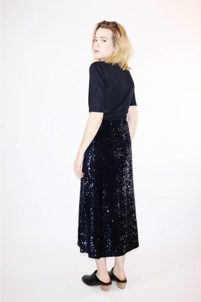 Just Female Jones Skirt in Dark Sapphire
