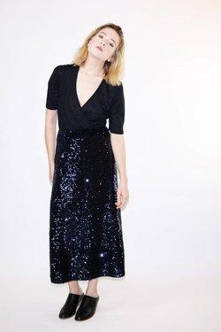 Just Female Siv Bodysuit in Dark Sapphire