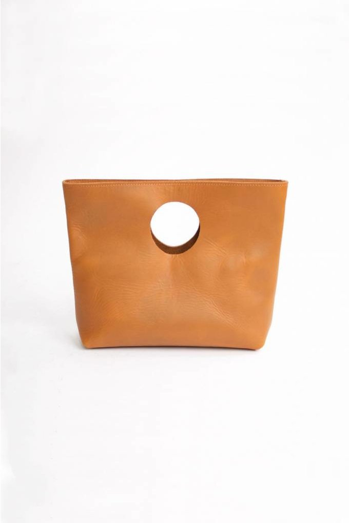 Neva Opet Lee Clutch in Sienna