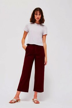 Lacausa Brushed Max Trousers in Jam