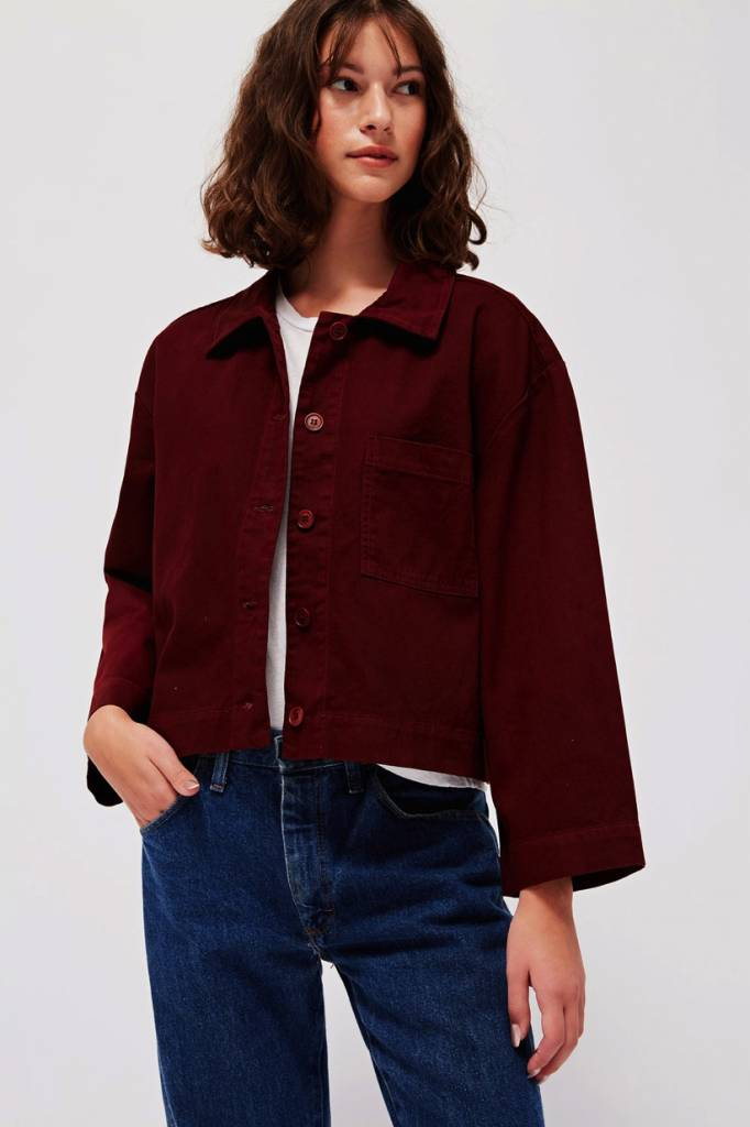 Lacausa Brushed Jane Jacket in Jam