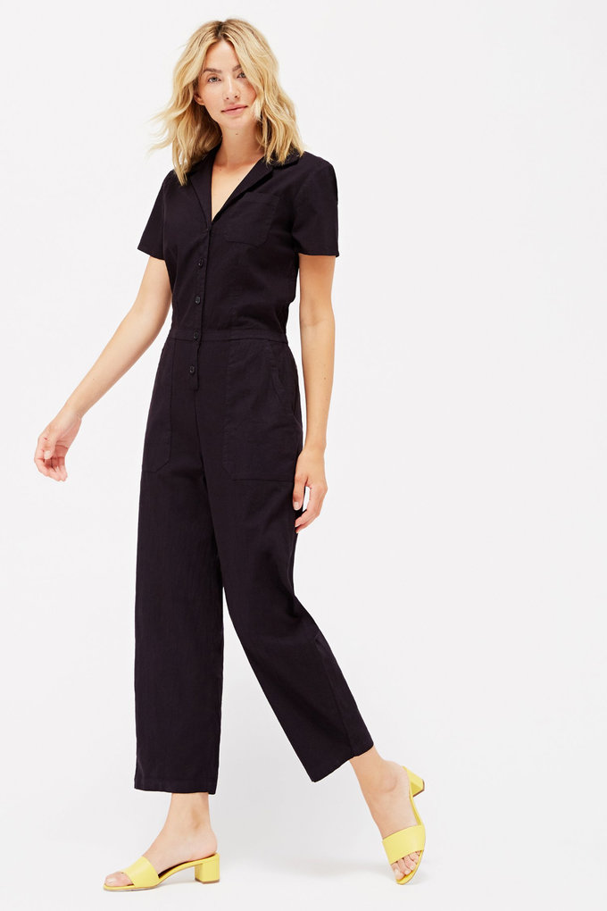 Lacausa Montana Jumpsuit in Tar