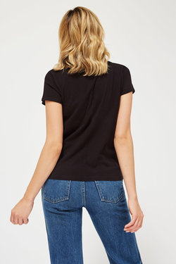 Lacausa Luxe Frank Tee in Tar