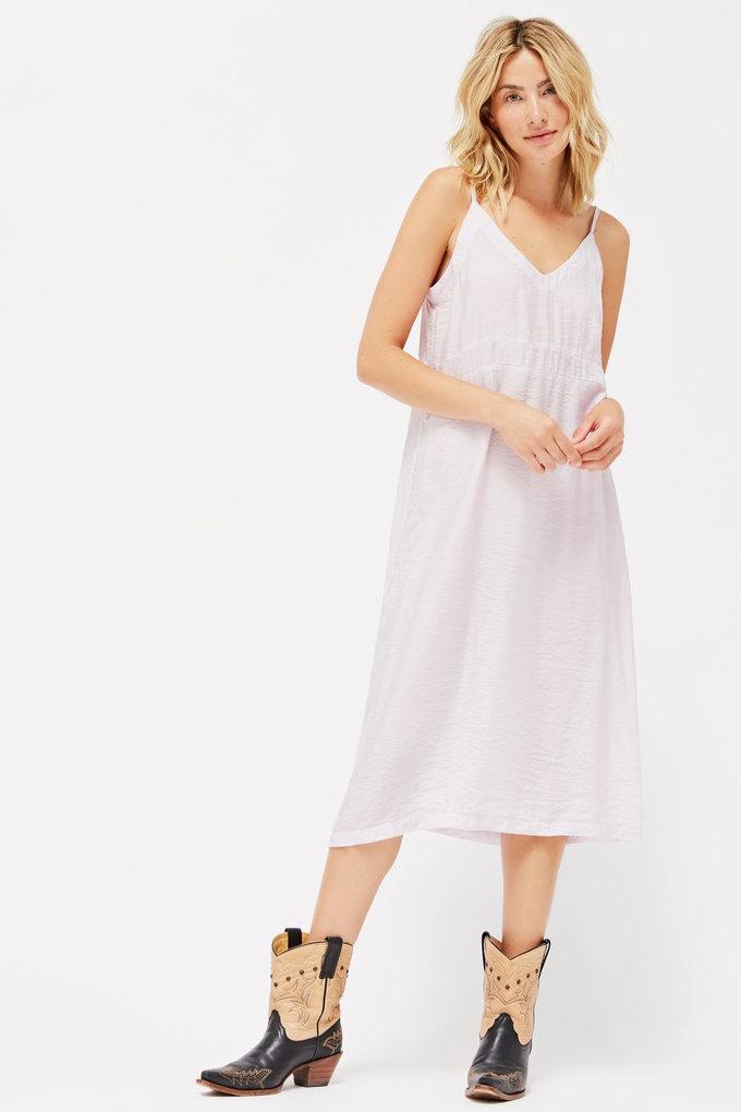 Lacausa Alma Slip Dress in Lavender