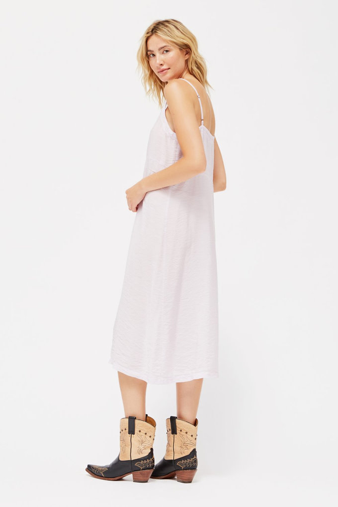 Lacausa Alma Slip Dress in Lavender