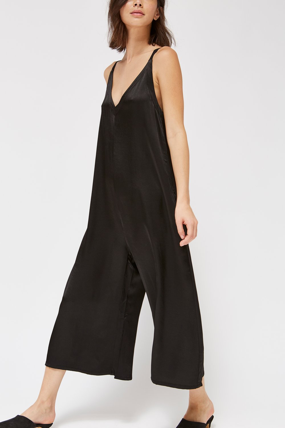 Lacausa Santi Jumpsuit in Tar
