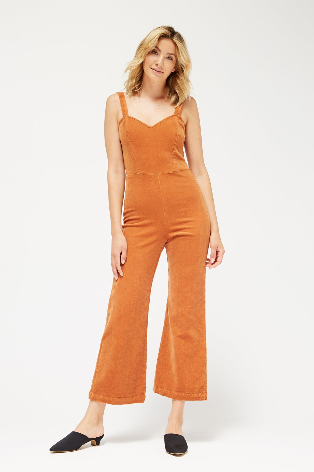 Lacausa Rosie Jumpsuit in Fox
