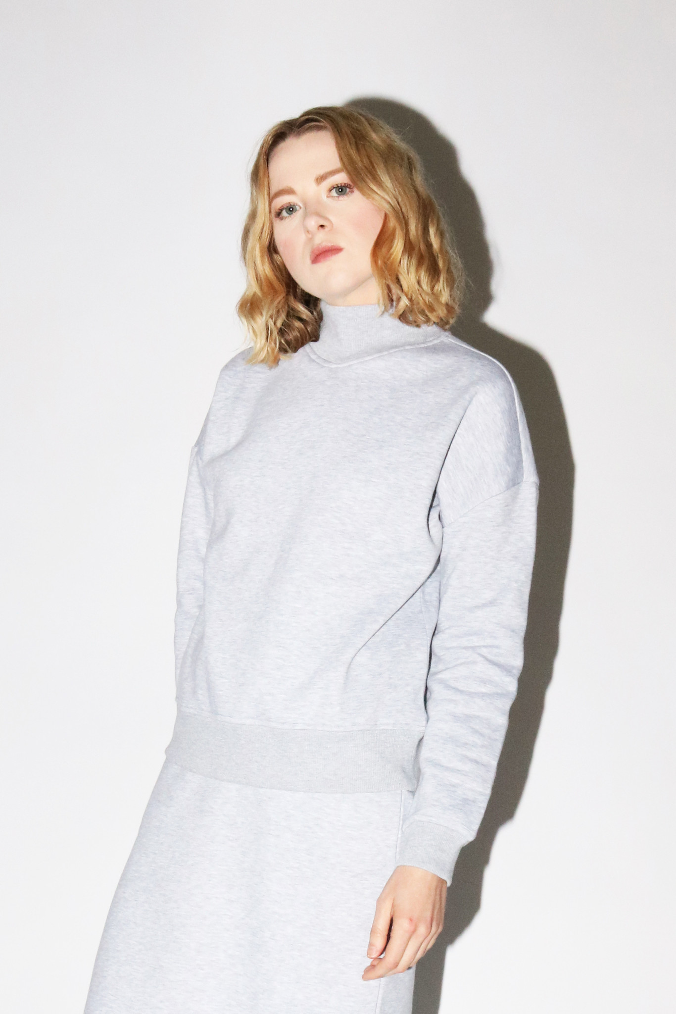 Just Female Inger Sweatshirt in Grey