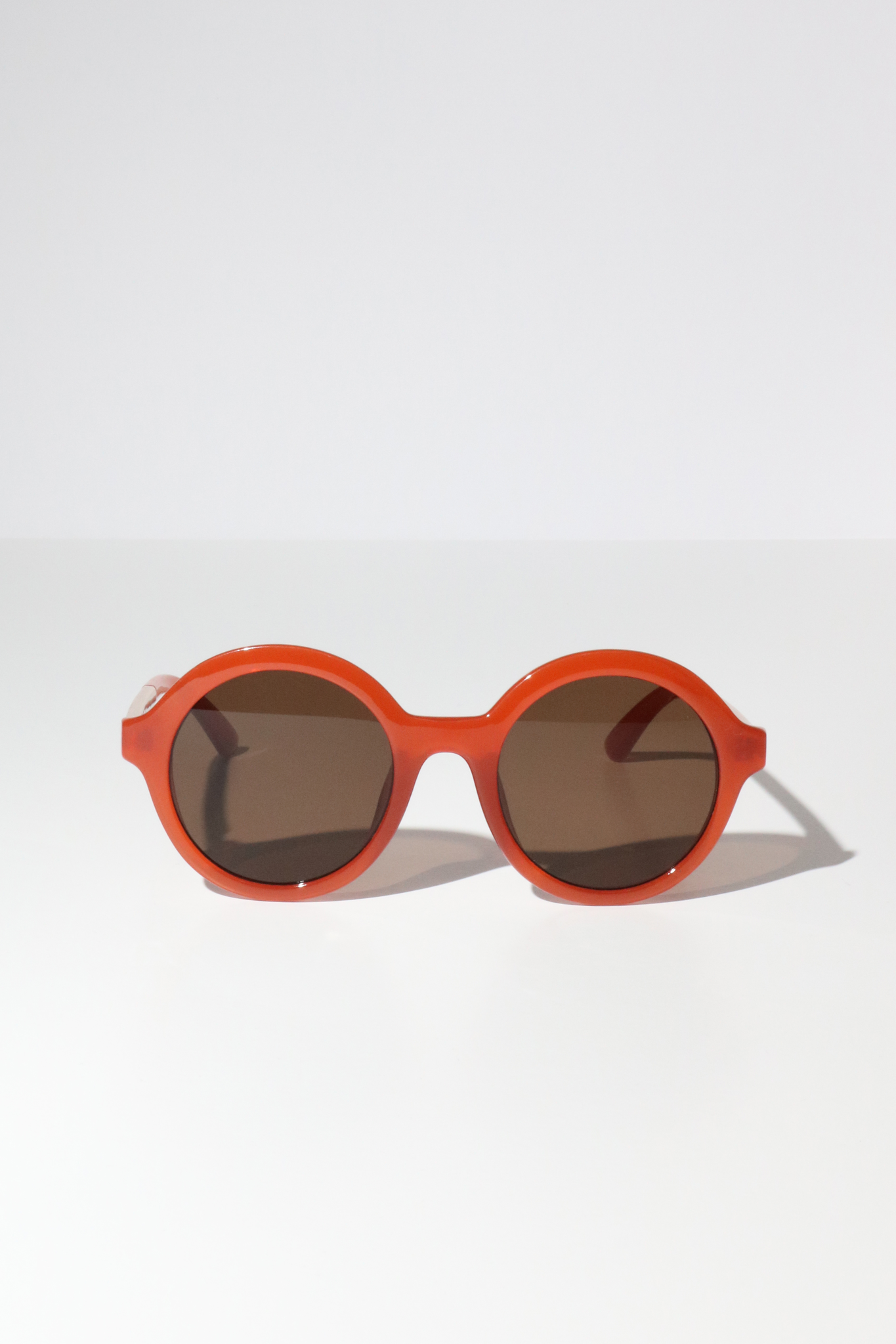 Reality Mind Bomb Sunglasses in Ochre