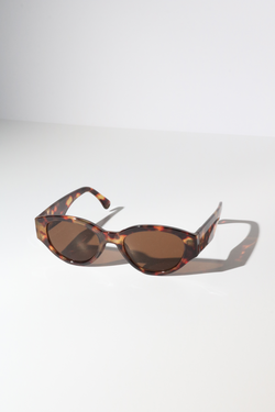 Reality Strict Machine Sunglasses in Tortoise