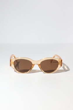 Reality Strict Machine Sunglasses in Champagne