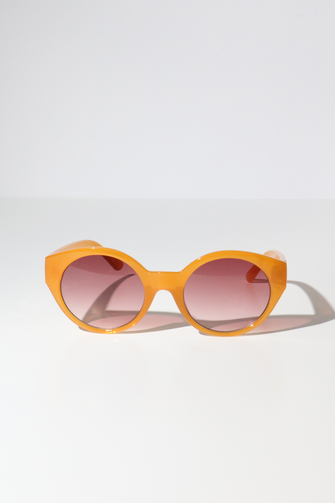 Reality Monteray Sunglasses in Mustard