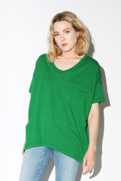 SkarGorn #61 Tee in Emerald Wash