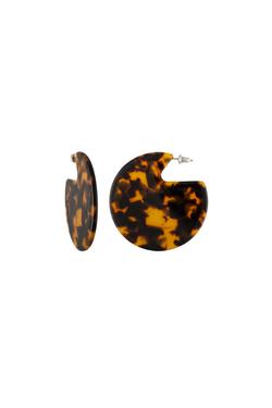 Machete Clare Earrings in Classic Tortoise