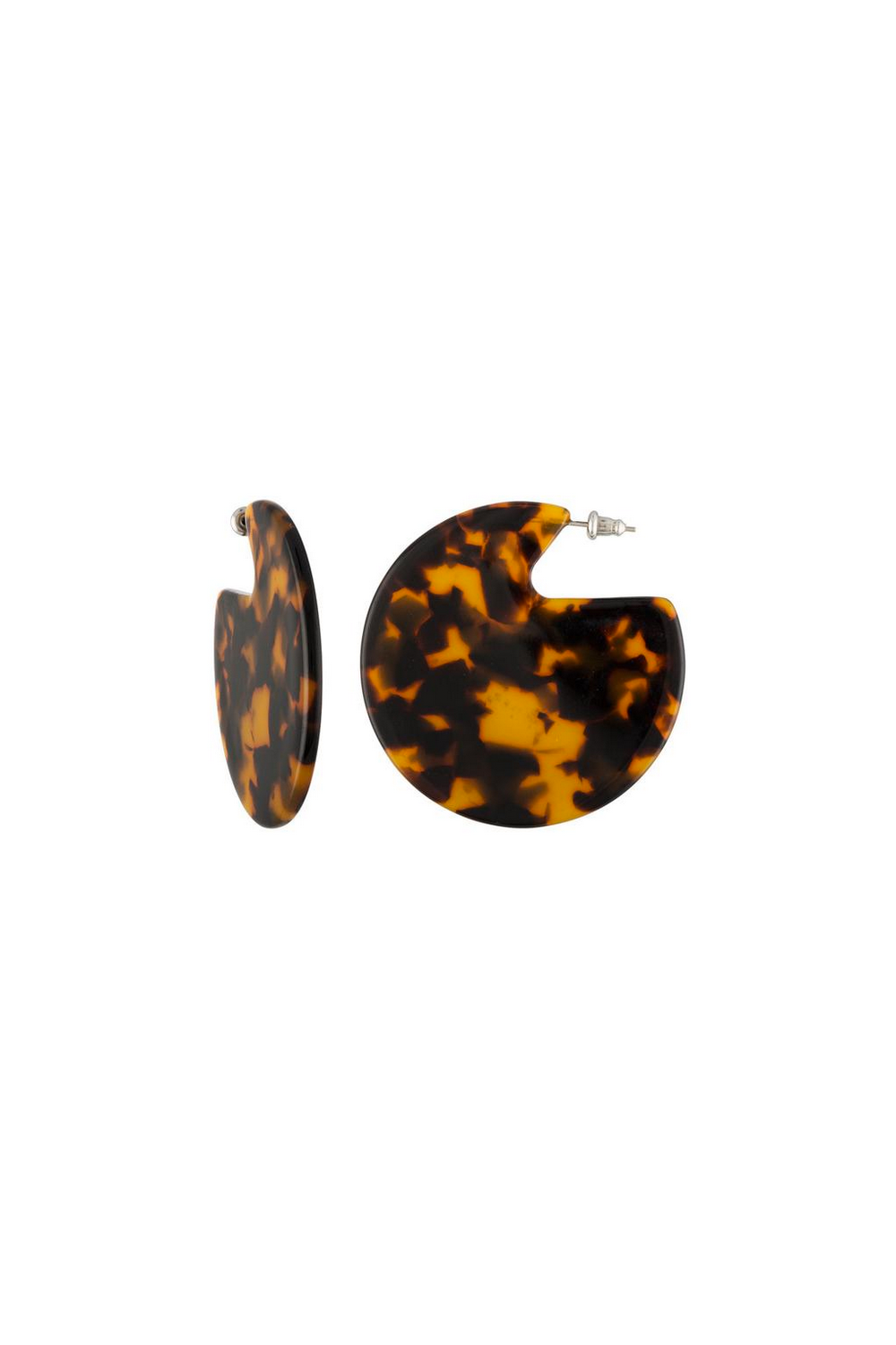 Machete Clare Earrings in Classic Tortoise