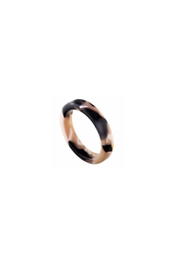 Machete Thin Stack Ring in Abalone