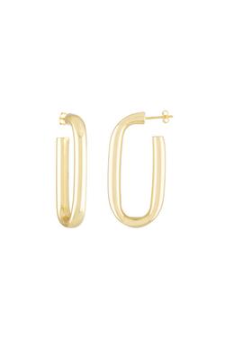 Machete Maya Earrings in 14k Gold