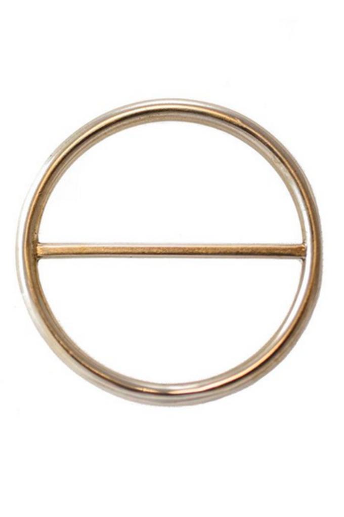 Ellen Mote Scarf Clip in Brass