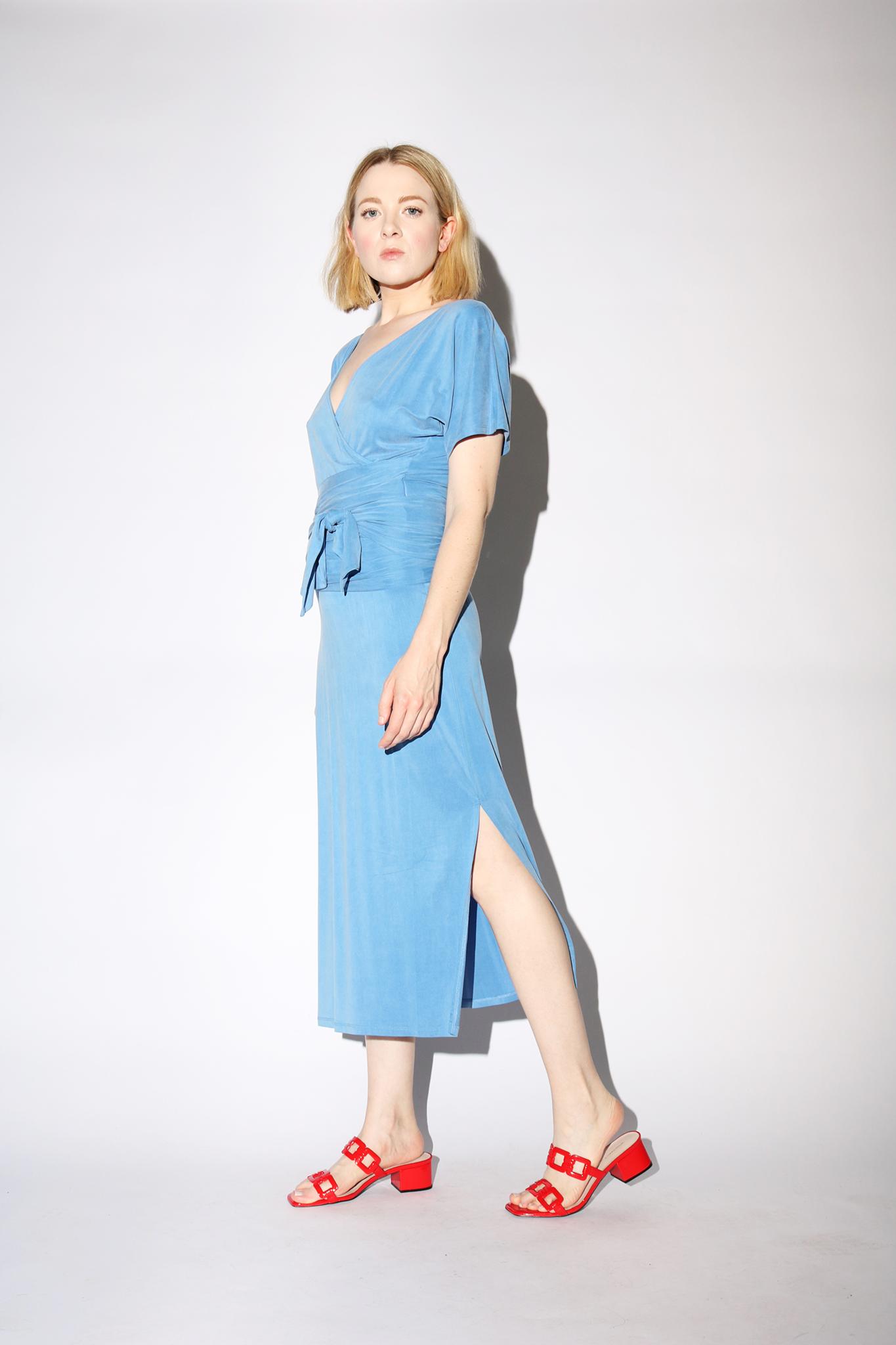 Paloma Wool Silvana Dress in Soft Blue