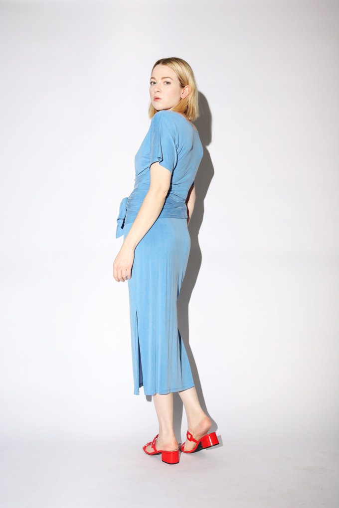 Paloma Wool Silvana Dress in Soft Blue