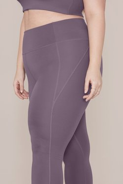 Girlfriend Collective High-Rise Compressive Legging in Dahlia