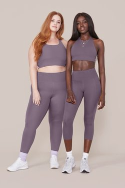 Girlfriend Collective High-Rise Compressive Legging in Dahlia