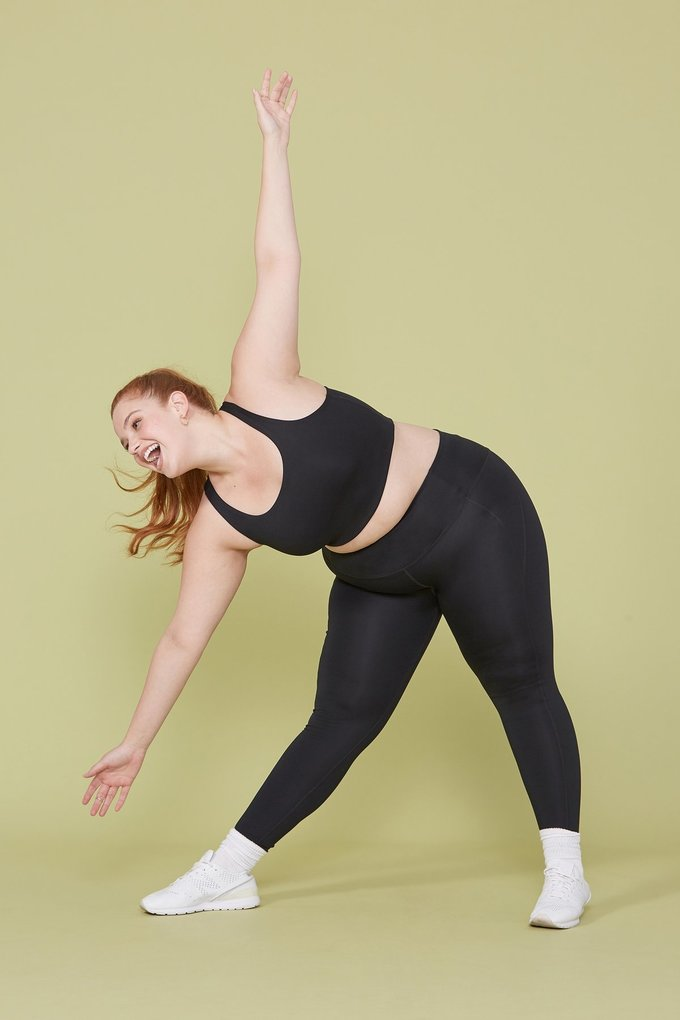 Girlfriend Collective High-Rise Compressive Legging in Black