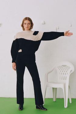 Paloma Wool Yin Yang Sweater in Ecru
