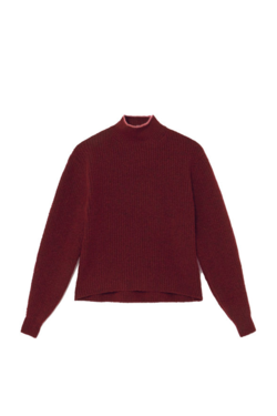 Paloma Wool Himalaya Sweater in Aubergine