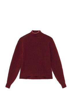 Paloma Wool Himalaya Sweater in Aubergine
