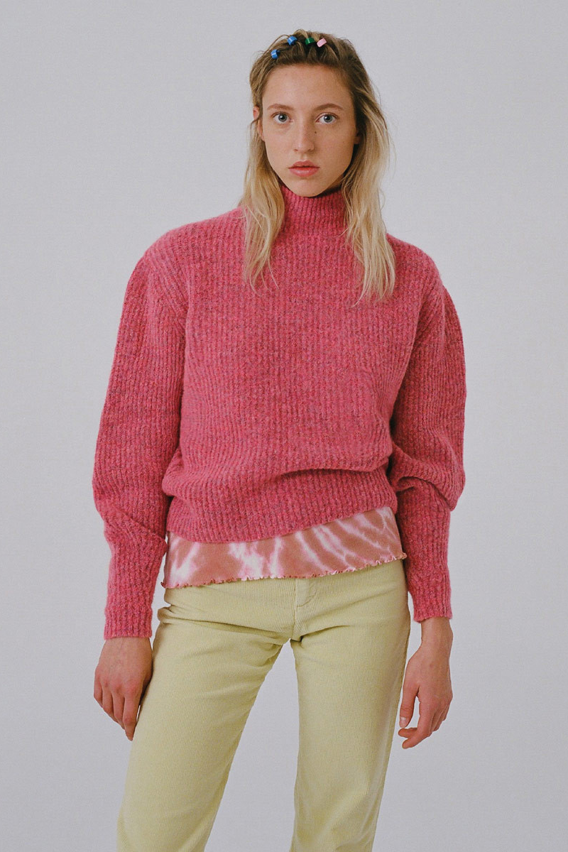 Paloma Wool Himalaya Sweater in Fuchsia