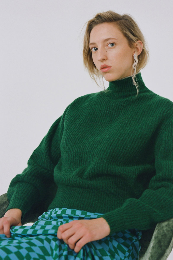 Paloma Wool Himalaya Sweater in Green