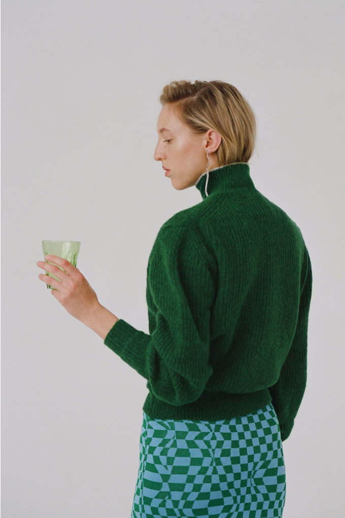 Paloma Wool Himalaya Sweater in Green